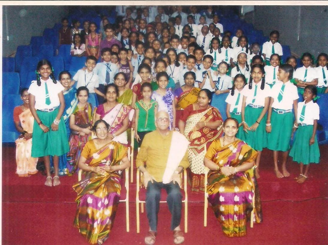 Konkani learning students visit WKC for cultural study