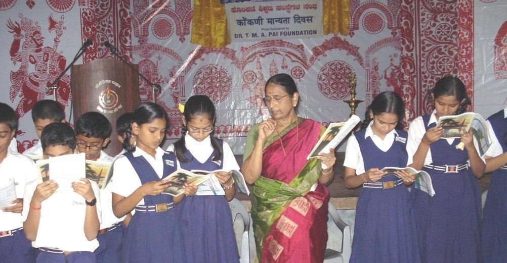 First Konkani Teaching Class